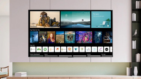 Vítejte na své nové domovské obrazovce