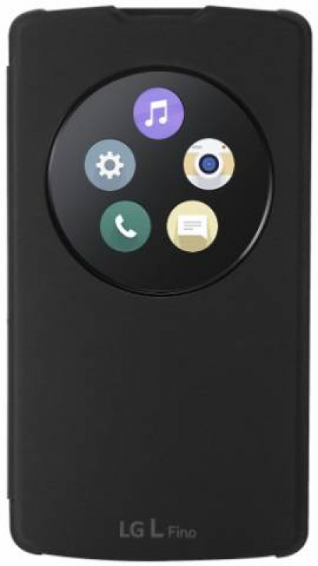 LG QuickCircle pouzdro CCF-550 černé pro L Fino