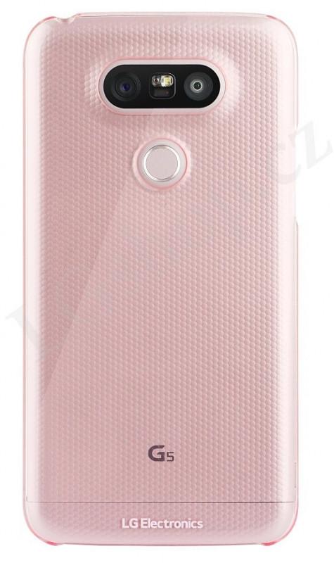 LG Snap-on kryt CSV-180 rose pro G5
