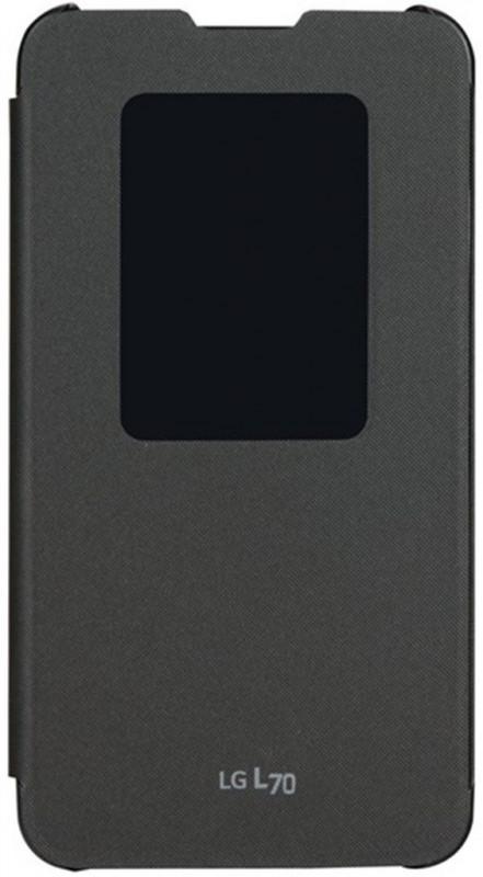 LG QuickWindow pouzdro černé CCF-400 pro L70