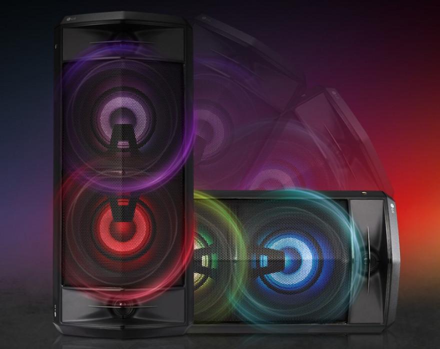 Flexibilní design poskytuje působivý zvuk