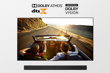 Dolby Vision a Dolby Atmos