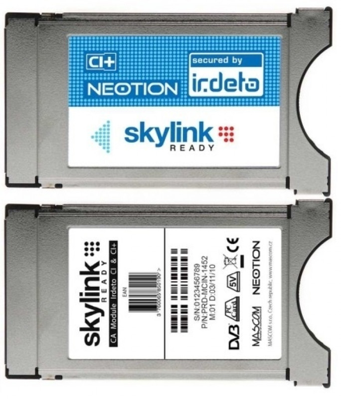 Irdeto modul Neotion Skylink Ready NEW CI+
