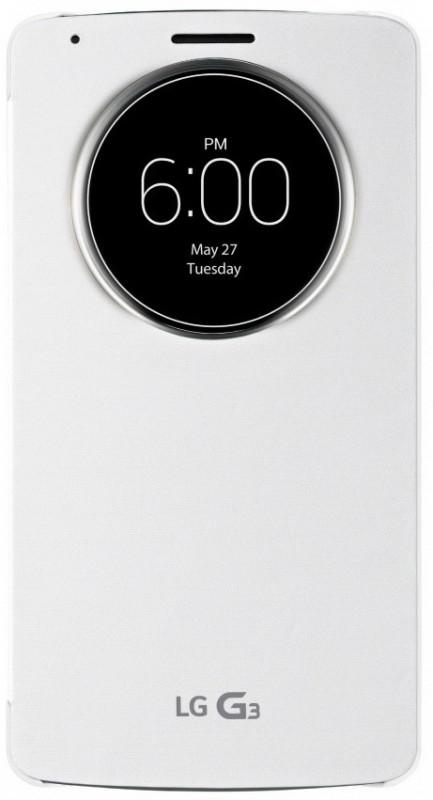 LG QuickCircle pouzdro CCF-345G bílé pro G3