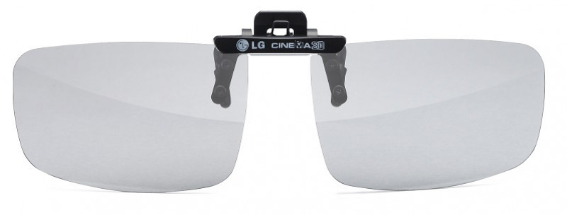 3D brýle LG Ag-F420 lens clip 1ks