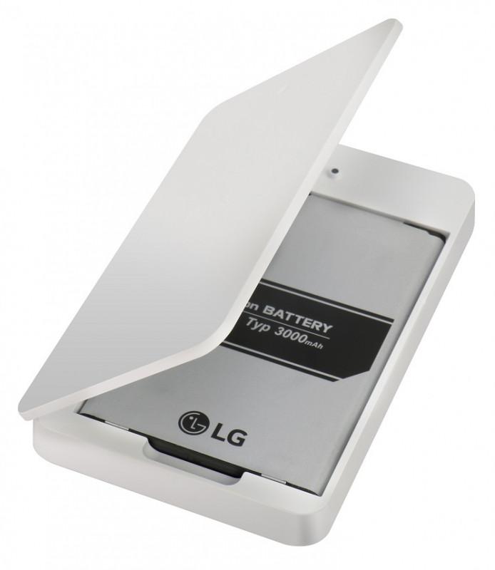 LG externí nabíječka BCK-4810 bílá + baterie pro LG G4