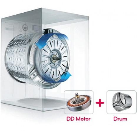 LG Direct Drive - Přímý pohon bubnu pračky
