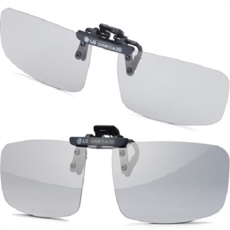 3D brýle LG Ag-F420 lens clip 2ks