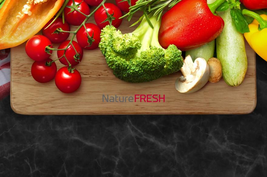 Dopřejte svým potravinám technologii NatureFRESH