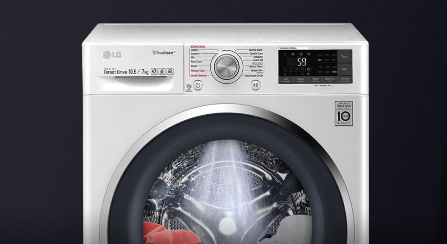 Rychlejší praní a více času pro vás