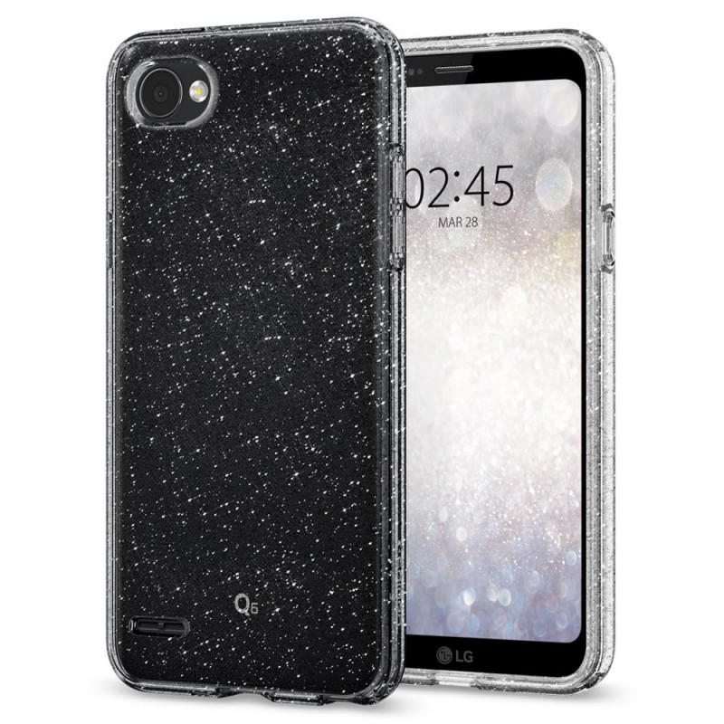 Spigen Liquid Crystal kryt pro LG Q6 - Glitter