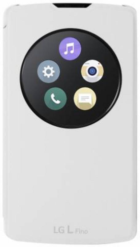 LG QuickCircle pouzdro CCF-550 bílé pro L Fino